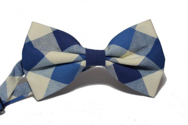 pajarita-cuadros-azules