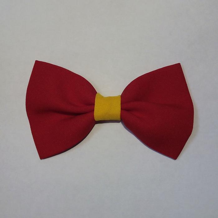 Pajarita España Amarilla Roja
