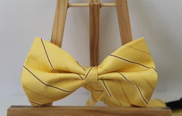 Convertir corbata en pajarita